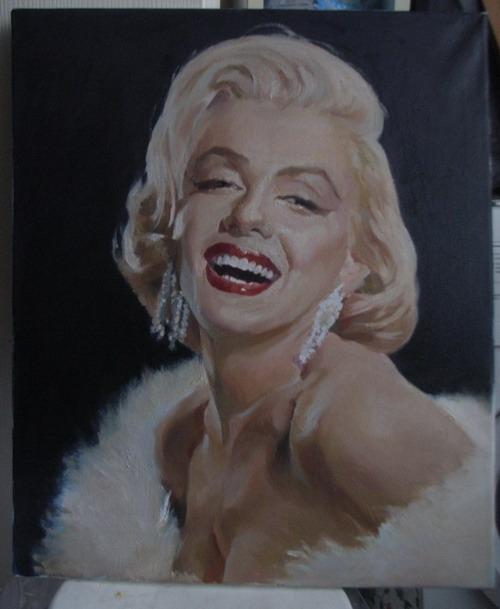 Marilyn Monroe by jasonhyl